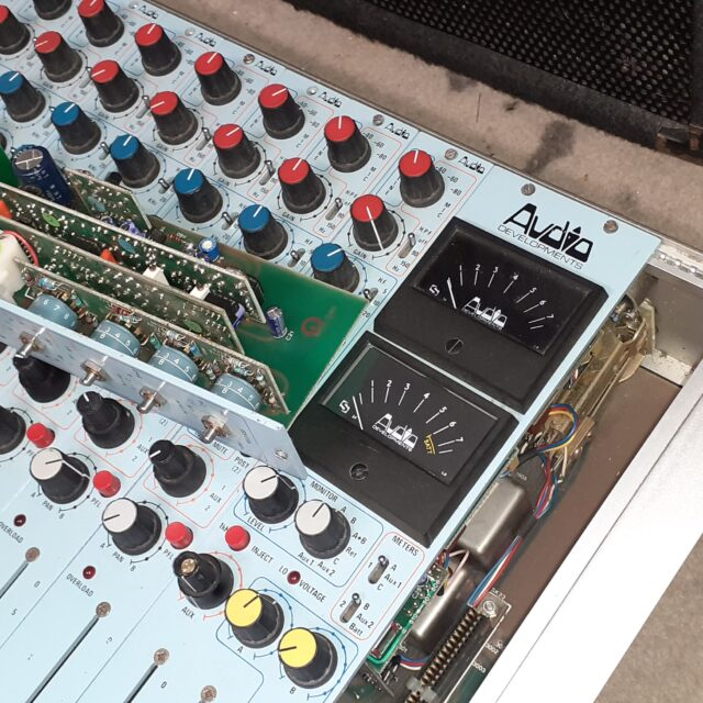 Broadcast and small mixers